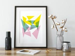 geometric, color, transparant